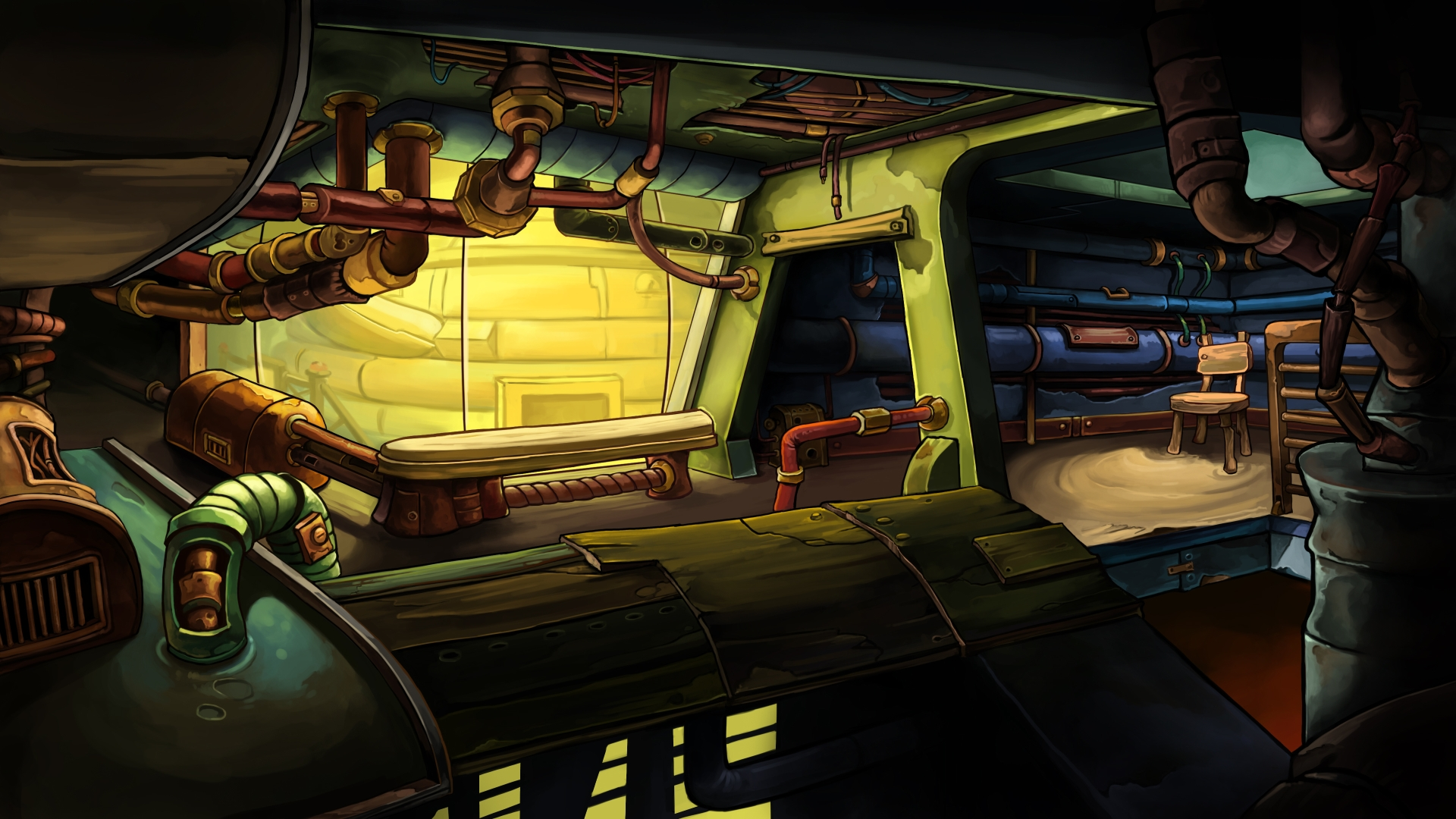 Goodbye Deponia - background