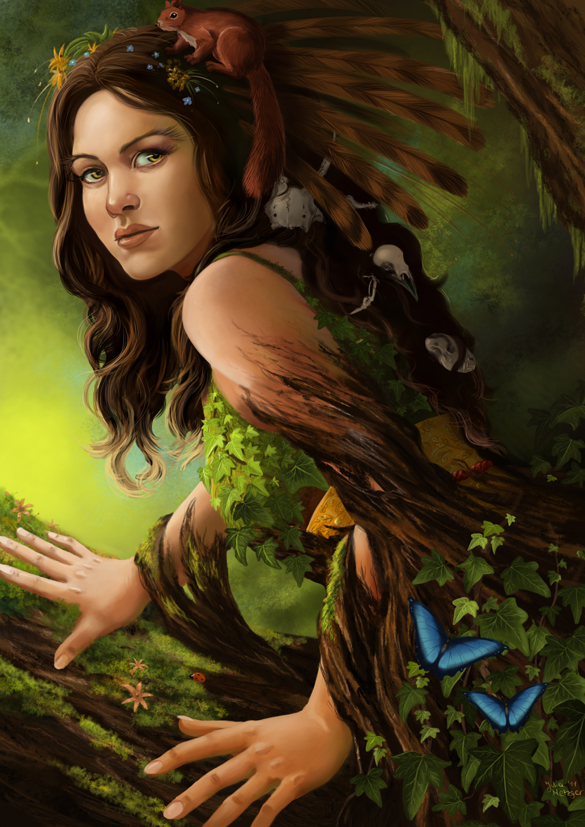 Julia Metzger - Goddess of the Forest
