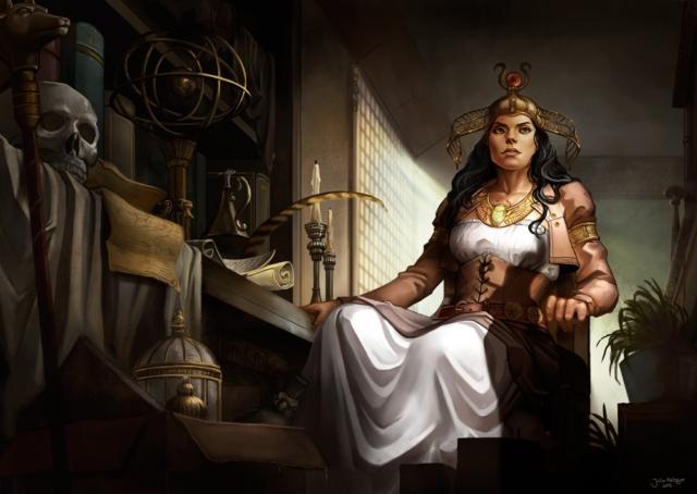 Julia Metzger - Steampunk Isis